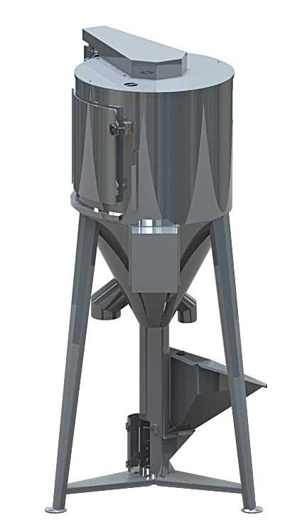 Silos Mix mixer a silos