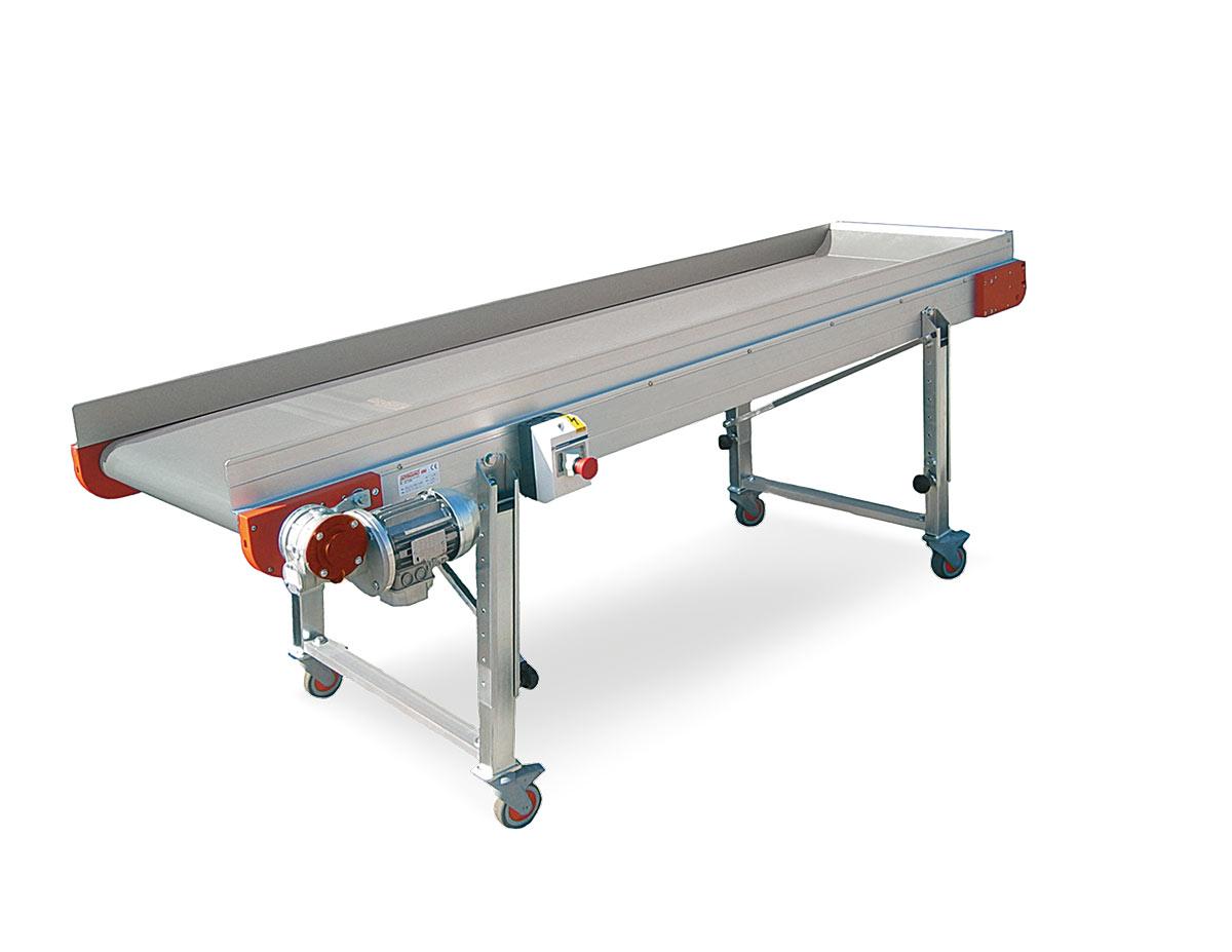 nastro trasportatore alluminio